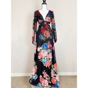 Show Me Your MuMu Velvet Meg Maxi Dress